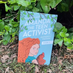 """Amanda The Teen Activist"" Book"