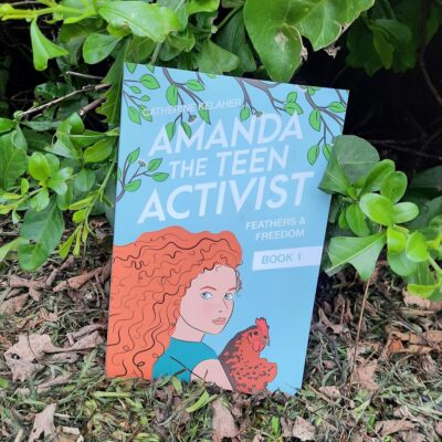 """Amanda The Teen Activist"" Book"
