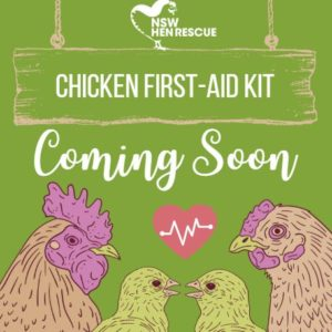 ***Coming Soon*** Chicken First-Aid Kit